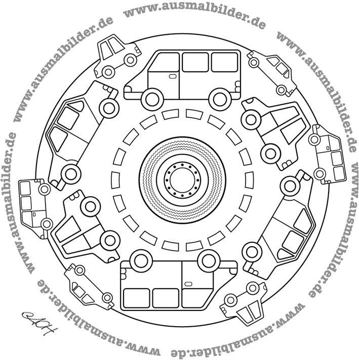 auto mandala als pdf datei herunterladen als word datei herunterladen